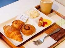 無料軽朝食付き♪
