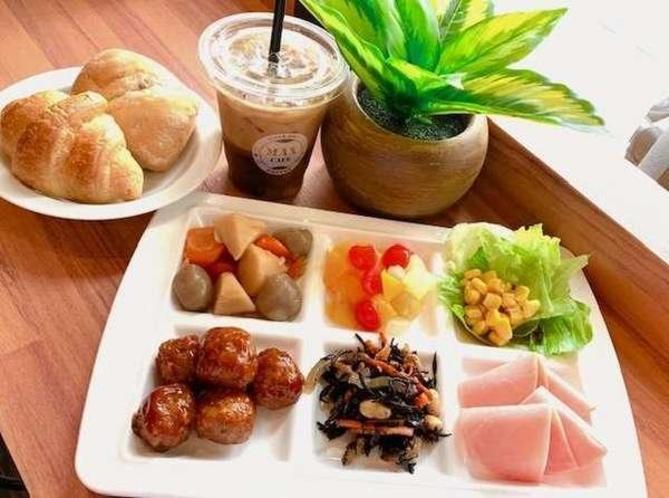<全プラン無料朝食実施中>健康朝食を是非ご賞味下さい!