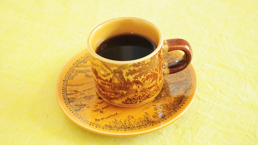 【朝食の一例】食後に嬉しいコーヒー付です