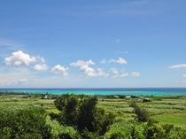【景色】客室から見える百合ヶ浜。