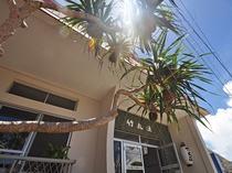 【外観】玄関前のパイナップルの木が目印です!