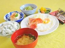 【朝食の一例】1日の始まりはバランスの良い食事から!