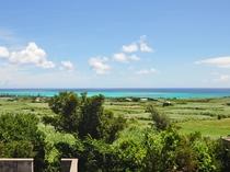 【客室】お部屋からの景色:客室から見える百合ヶ浜。