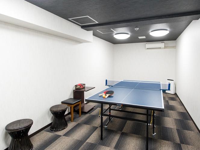 卓球スペース 無料にてご利用いただけます