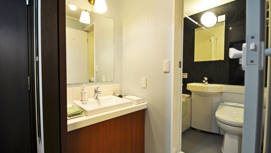 【特別室】バスルーム・洗面所