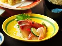 【ご夕食一例:ビジネスプラン】新鮮な旬のお刺身