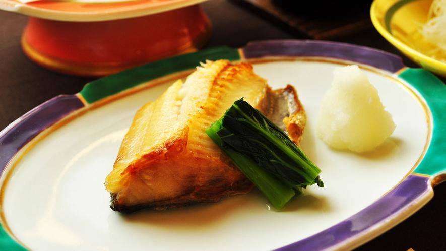 【ご夕食一例:ビジネスプラン】焼魚