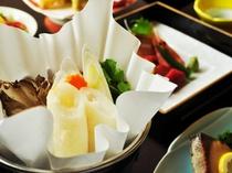 【ご夕食一例:くまげらプラン】秋田と言えば!名物きりたんぽ鍋!
