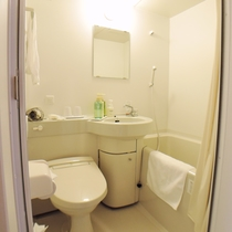*【ユニットバス】全室完備!トイレは洗浄機能付トイレです。