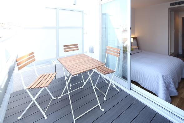 【個室】ダブルプライベードルームシンプル素泊まりプラン
