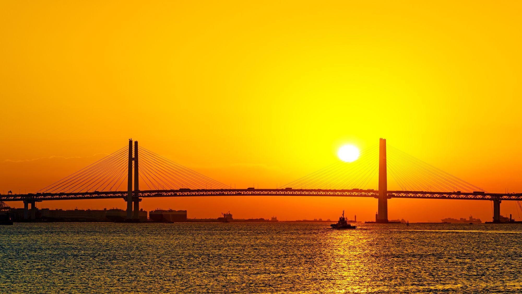 【周辺施設】横浜ベイブリッジ