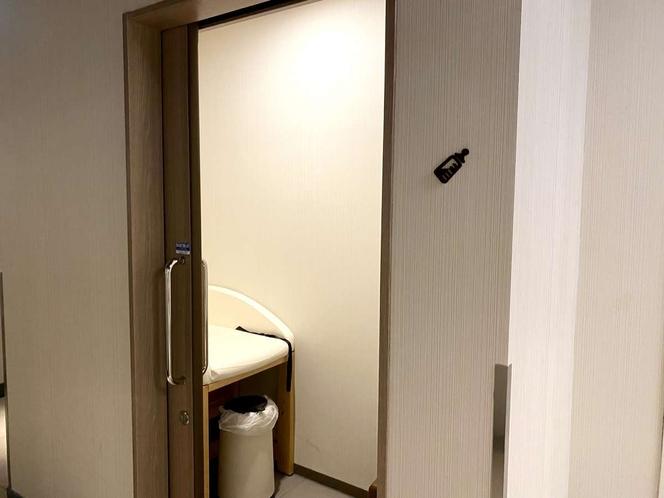 1階ロビーに授乳室がございます。