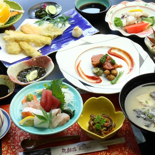 【夕食一例】スタンダードのお料理