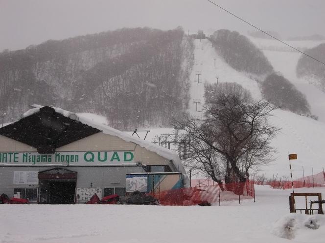 仁山スキー場(当館より7分)