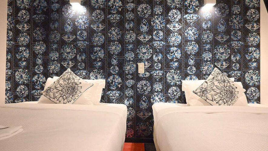 ・【ベッド広めツインルーム一例】ゆったりお過ごしいただけます