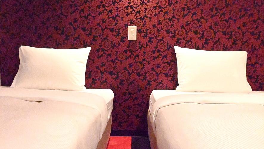 ・【ツインルーム一例】未就学のお子様1名様まで添い寝可能です