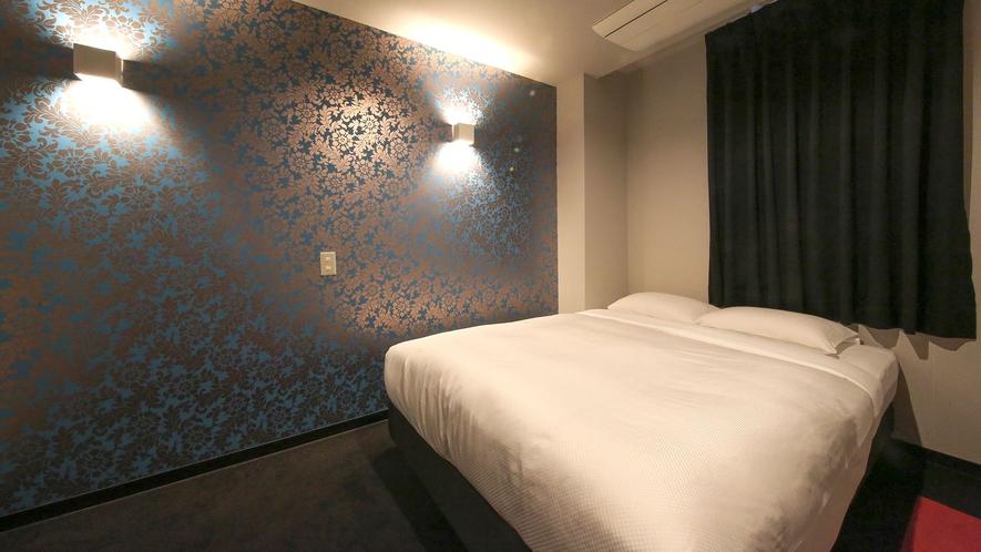 ・【セミダブルルーム一例】各部屋ごとに雰囲気の異なるデザイナーズルームです