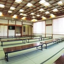 *【大広間】こちらの大広間がお食事会場となる場合もございます。