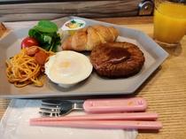 ご朝食 お子様プレート