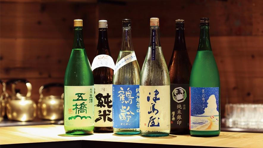 居酒屋フクロウのこだわり厳選日本酒