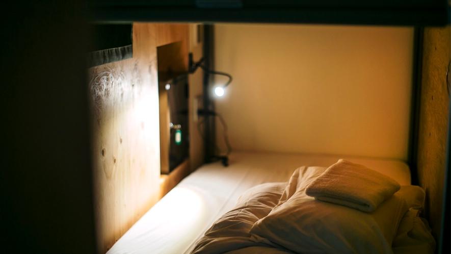ドミトリー部屋ベッド