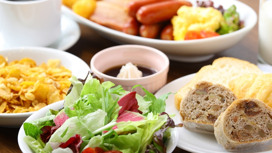 ■朝食ビュッフェ一例【洋食】