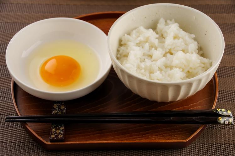 ご飯(白米・十五穀米)やお茶漬け、卵など無料でお召し上がりいただけます!