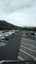 ★多賀SA上り線 大型車駐車場★大型車132台 バス専用駐車場もございます