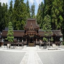 【周辺観光案内】多賀大社 一般道駐車場より車で約5分、徒歩で約20分