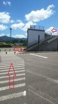 ★多賀SA上り線駐車場からの歩道橋★大阪・京都→名古屋方面へ向かわれる方