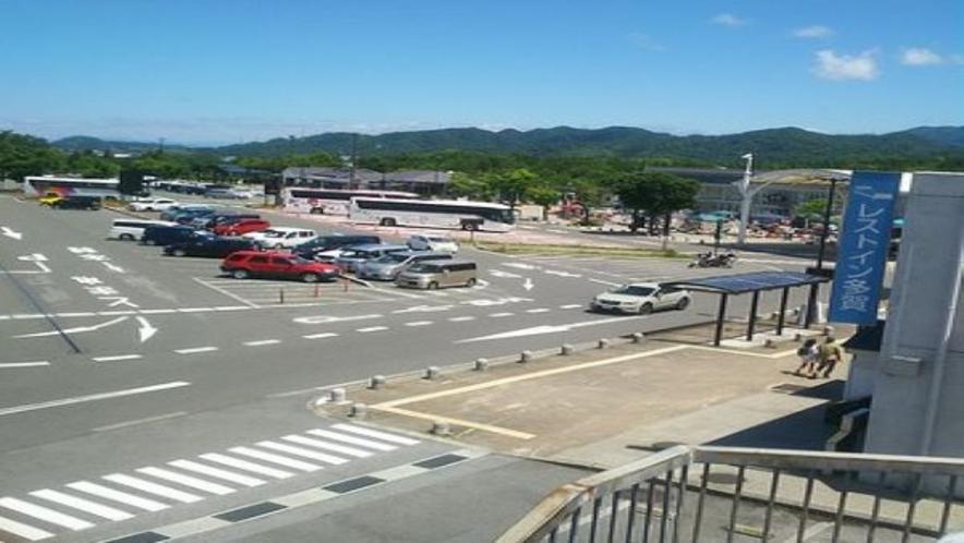 多賀SA下り線駐車場(レストイン多賀前)