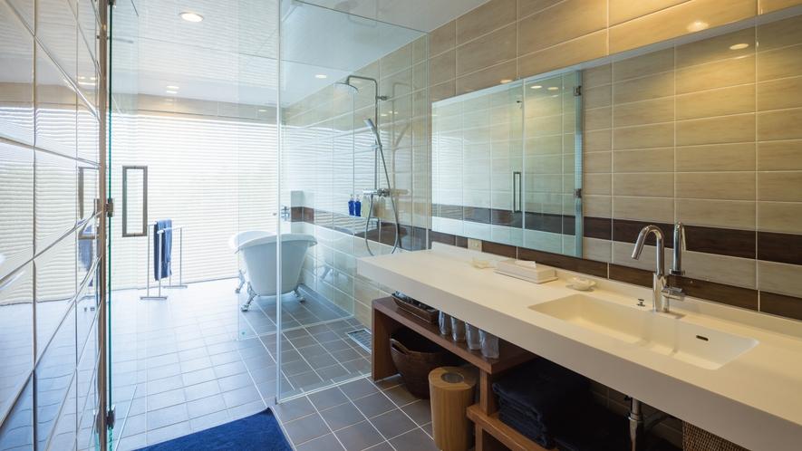 【海】T-Roomのお風呂は全て軟水となっております