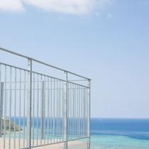【景観】施設のあちらこちらで見えるきれいな海も逃さずチェック