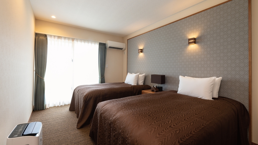 【ティーダ】高級ベッドメーカーSealy(シーリ-)のベッドを完備