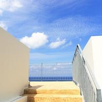 【景観】屋上から見る景色も絶景です