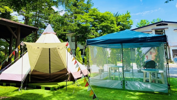 グランピング・テント(2〜4名)