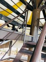 グランピング・エアーの階段_パート2