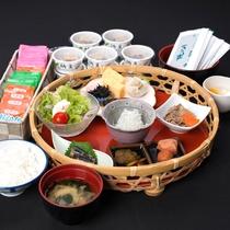 *ご朝食一例/ヘルシー和食膳またはお日にちによって和洋バイキングも開催♪