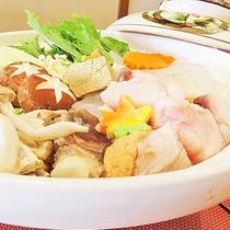 *【冬季限定】あんこう鍋・捕れたて新鮮で肉厚なアンコウをたっぷり使用したお鍋をお召し上がりください