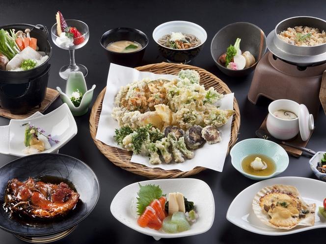 信州野菜の天ぷら