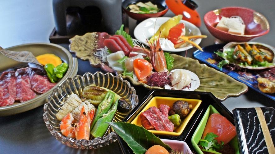 *「四季の膳」秋/割烹70年の歴史を誇る佐渡見亭の会席料理