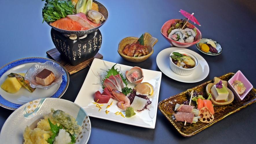 *「四季の膳」冬/寒ぶりなど日本海の冬の旬を楽しめるお料理