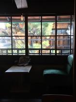客室から見る京都の箱庭