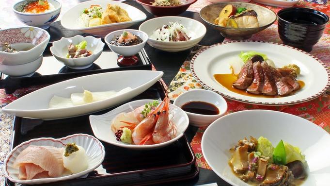【贅沢コース】厳選の最高食材が織成す…食の贅沢を堪能≪夕食は海のレストラン≫