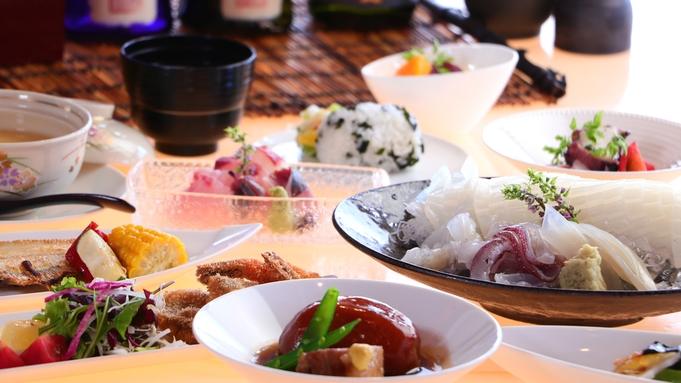 【おおとくコース】当館人気!四季折々の三国の幸を盛り込んだ名物≪夕食は海のレストラン≫