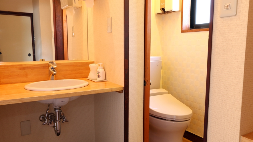 くつろぎ和室-トイレ・洗面付き-