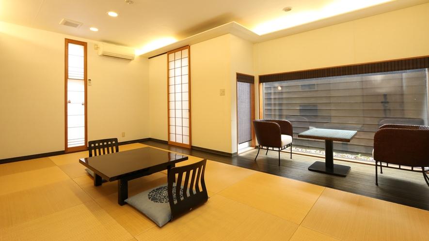 椿の間(露天風呂付客室)
