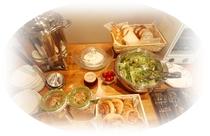 朝食ビュッフェ(お食事一例)