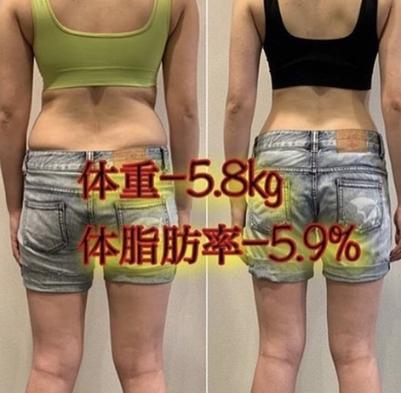 【昼夜食事付き】-5kg痩せ5泊6日体質改善プラン
