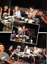 京都から、ご家族でシーズン2でのバーベキュー!